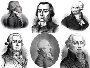 Committee of Public Safety: Bertrand Barère (de Vieuzac), Pierre-Joseph Cambon, Georges Danton, Jean François Delacroix, Louis-Bernard Guyton de Morveau, and Jean-Baptiste Treilhard