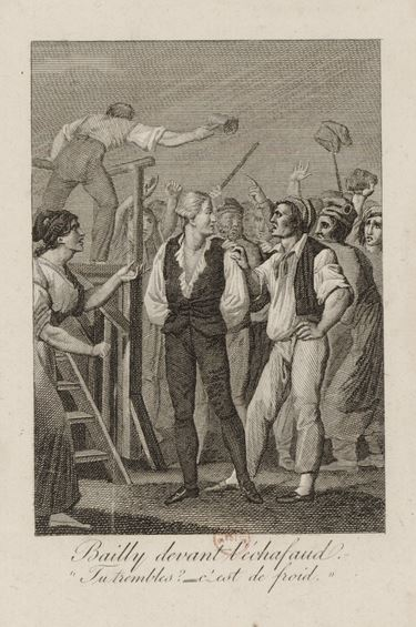Jean-Sylvain Bailly execution