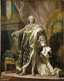 Louis XV by Louis Michel van Loo, Courtesy of Wikipedia