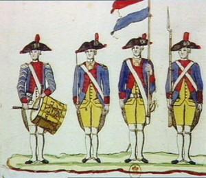 Gendarmerie Nationale (Uniforms 1789-1799), Courtesy of Bibliothèque national de France