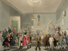 Bow Street Runners, Bow Street Runners were London's First Professional Police Force. This is a 19th Century depiction of the Courtroom at 4 Bow Street. Courtesy of Wikipedia