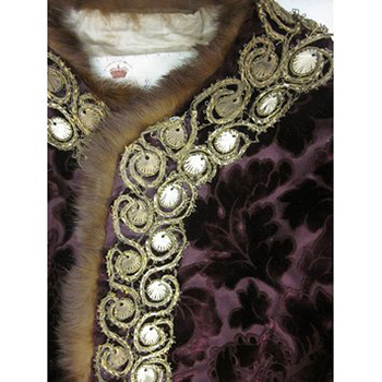Detail of Costume Worn by Hon. Francis Gathorne-Hardy at the Ball, Courtesy of V&A.