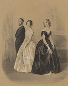 Quadrille Dancers, Courtesy of Bibliothèque nationale de France
