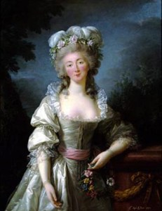 Madame du Barry, by Vigée Le Brun,