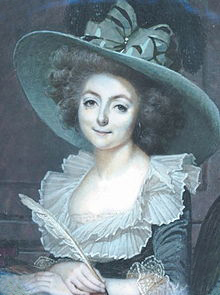 The Salon Hostess Sophie de Condorcet: Sophie Marie Louise de Grouchy or Madame de Condorcet, Courtesy of Wikipedia.