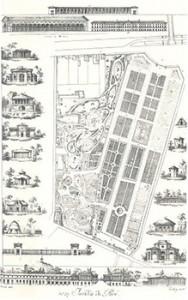 Jardin des Plantes in 1820, Courtesy of Wikipedia