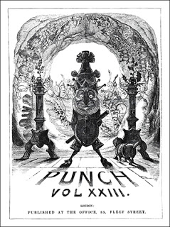 Madame Tussaud's Chamber of Horrors - Punch title page