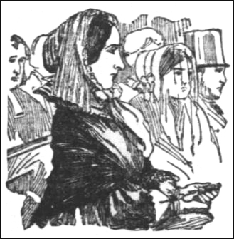 Madame Marie Lafarge in court