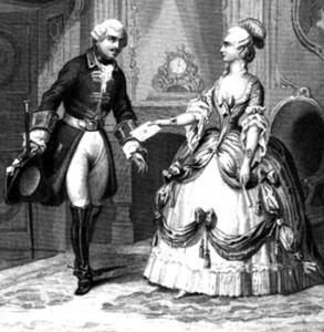 La Clairon Led to the For l'Evêque Prison, Courtesy of Wikipedia