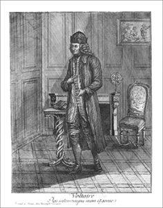 Voltaire, Courtesy of Galllica at Bibliothèque nationale de France