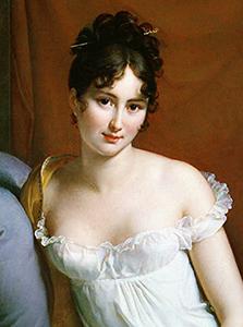 French salon hostess: Juliette Récamier