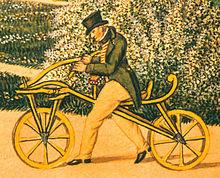 Drais's original Laufmaschine.