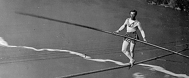Charles Blondin: The Tightrope Walker and Daredevil - Geri