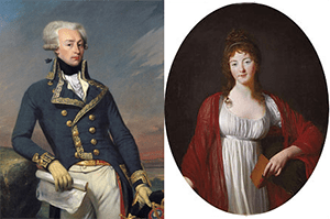 Love affair between Lafayette and Diane of Simiane