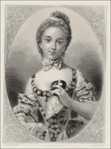 The French Ballerina Marie-Madeleine Guimard