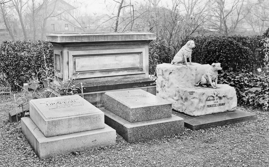 first pet cemetery - gravestones