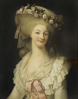 Georgian Headdresses - Princesse de Lamballe