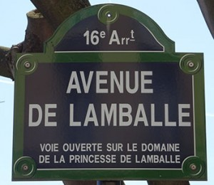 Street on which the Princesse de Lamballe's Passy Home is Located, Author's Collection
