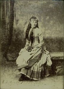 Princess Hélène of Orléans in 1885
