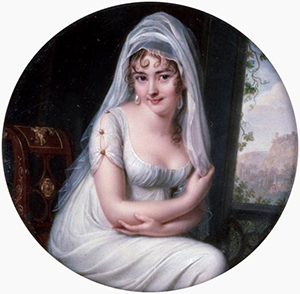 Madame de Staël and Madame Récamier