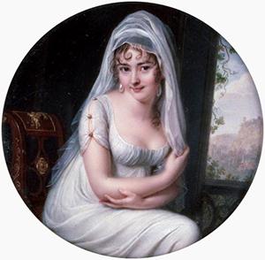 Juliette Récamier's adopted daughter - Juliette