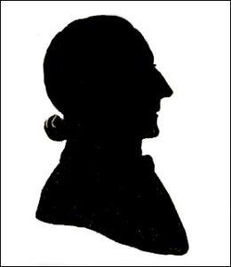 Auguste Edouart - his self-created likeness