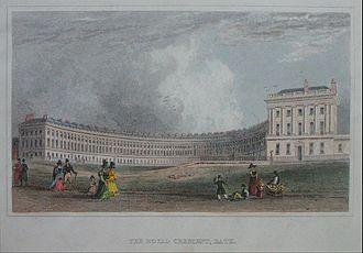 Jane Austen and Bath - Royal Crescent