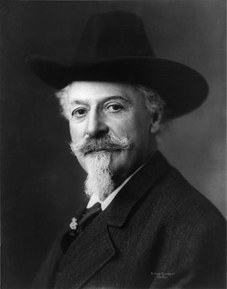 Buffalo Bill's 1889 visit to France