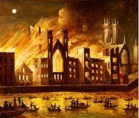 Parliament fire - 1834-1835