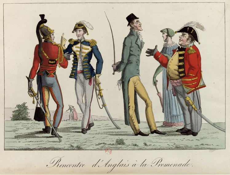 Promenade des Anglais - caricature