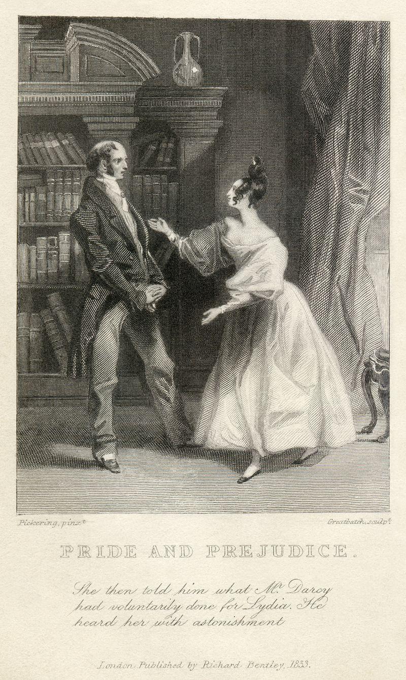 Jane Austen's Pride and Prejudice - illustration