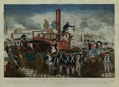 French executioner Charles-Henri Sanson - after Louis XVI's execution