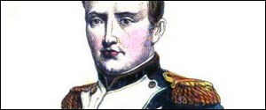 Napoleon Bonaparte. Author's collection.