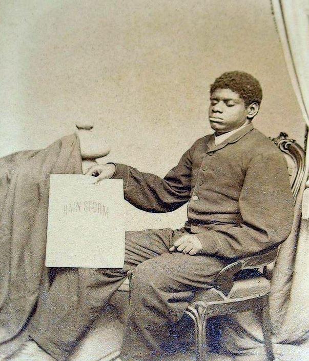Blind Tom in 1861.