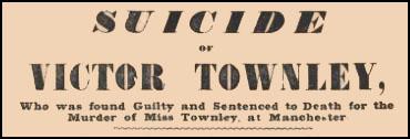 George Victor Townley suicide headline