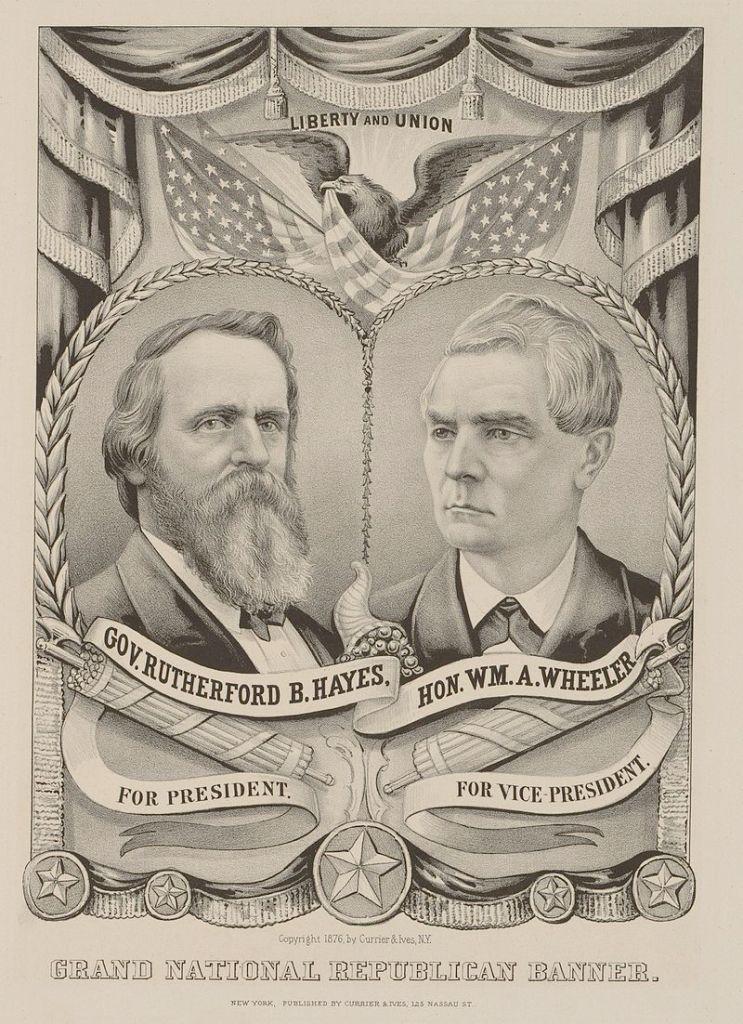 19th U.S. President Rutherford Birchard Hayes