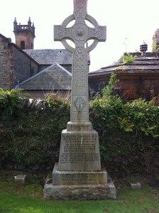 Elizabeth Blackwell - headstone at St. Munn's Parish Church