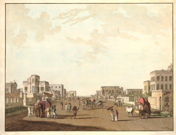 18th century Calcutta in 1788