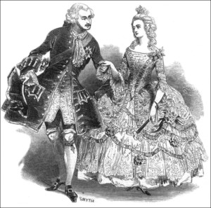 Queen Victoria's Bal Costumé of 1845 - Prince Albert and Queen Victoria