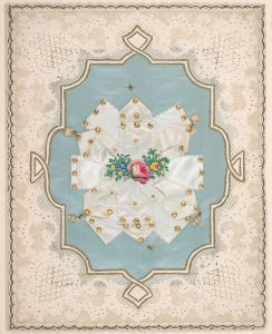 Esther Howland - lace paper valentine attributed to her.
