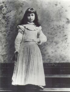 Consuelo Vanderbilt as a young girl