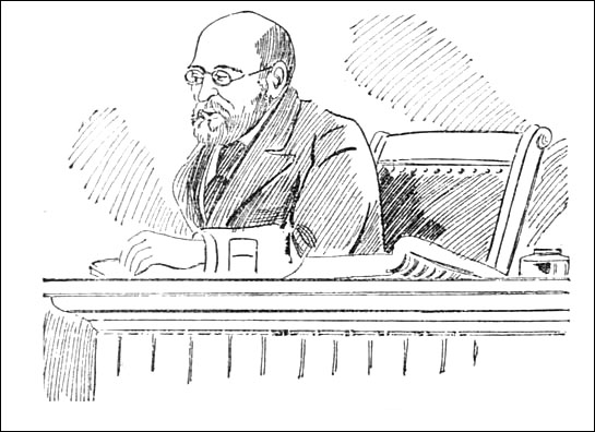 Harry T Hayward - Judge Smith sentencing him.