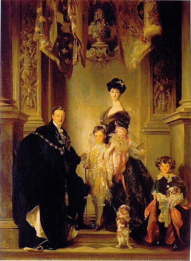 Consuelo Vanderbilt and Marlborough family