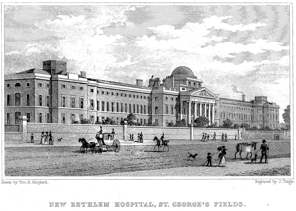 Margaret Nicholson - Bethlem Hospital