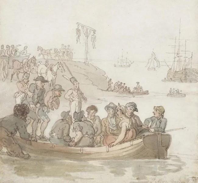 female prisoners at Newgate