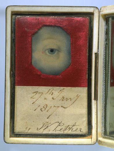 Eye miniatures - Pether William