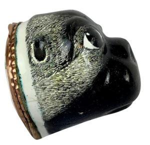 pug collectibles and trinkets - pug snuff box