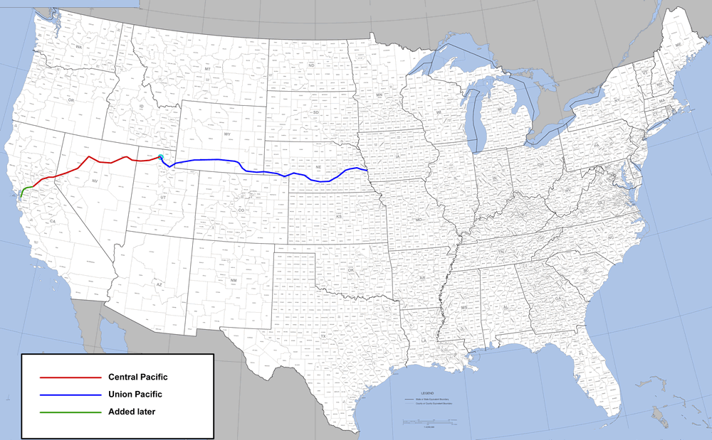 Hell on Wheels route