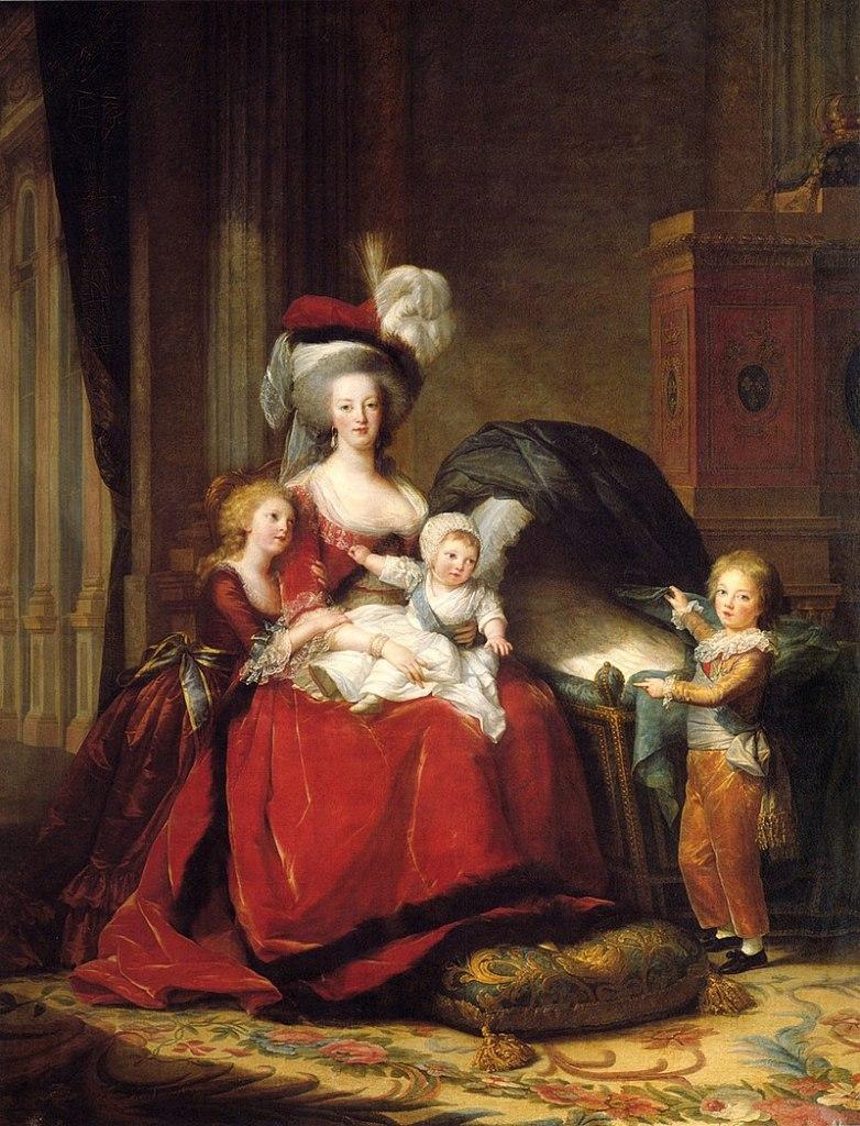 Children of Marie Antoinette