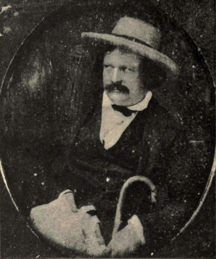 Ned Buntline - daguerreotype